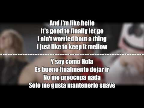 Marshmello - Keep it Mello | Lyrics + Subtitulado Español + Video