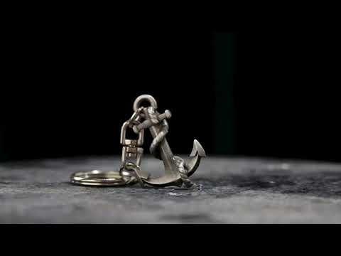 Buckingham Pewter - 3D Anchor