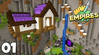 Empires SMP: A Caves and Cliffs Starter House   Minecraft 1.17 Let's Play Episode 1