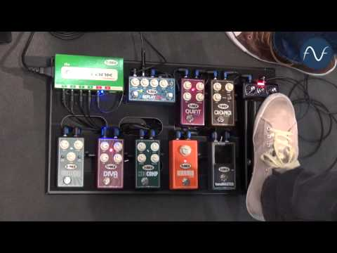 [Musikmesse] T-Rex new pedals 2014
