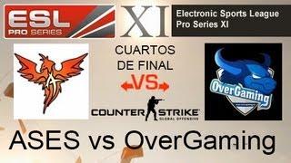 CSGO: Ases vs OverGaming - EPS XI