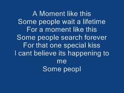 leona lewis- a moment like this