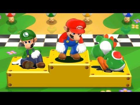Mario Party 9 - All Boring Minigames