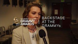Brandi Carlile GRAMMY Rehearsals Interview | 2019 GRAMMYs