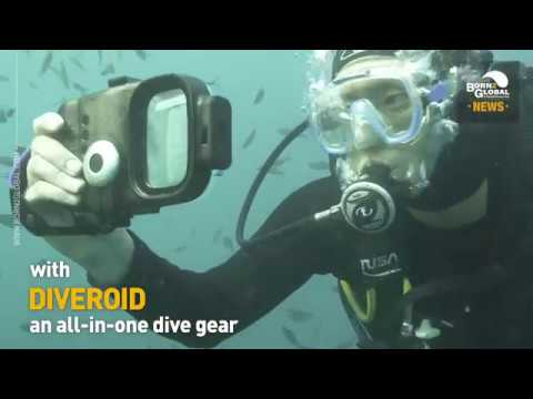 DIVEROID takes you to an unforgettable diving experience.