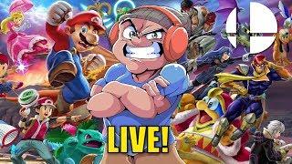 LET'S SMASH!! LIVE!!!