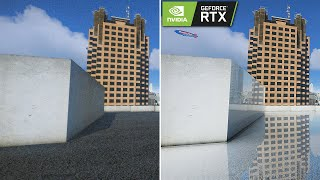 GTA 5 - 8k Resolution 2x RTX 2080 Ti [RTX OFF vs RTX ON] Ray Tracing Comparison 2019 Mod!