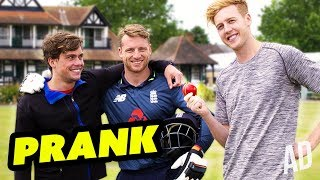 PRANKING ENGLAND STAR - JOS BUTTLER ft BYRON LANGLEY