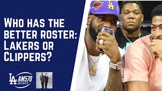 Lakers Or Clippers? Who Has The Better Roster? | Roggin And Rodney