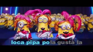 "Sing ""Papa Mama Loca Pipa"". The Impossible Karaoke Challenge is on now! #DespicableMeChallenge"