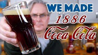 🔵 We Made 1886 Coca Cola Recipe    Glen & Friends Cooking