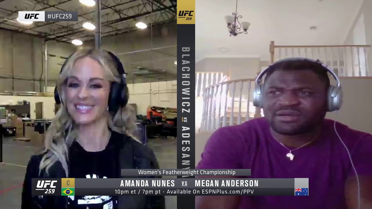 UFC 259 Quick Hits: Francis Ngannou Stops By