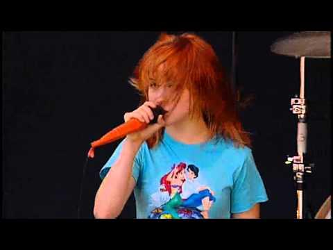 Paramore - Crush, crush, crush live