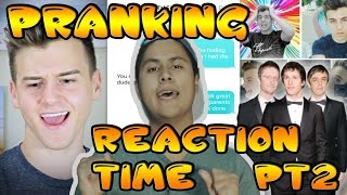 Pranking YOUTUBER with The Lonely Island 'I Just Had Sex' Reaction Time