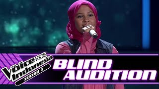 Alyssa - Cinta Sejati | Blind Auditions | The Voice Kids Indonesia Season 3 GTV 2018