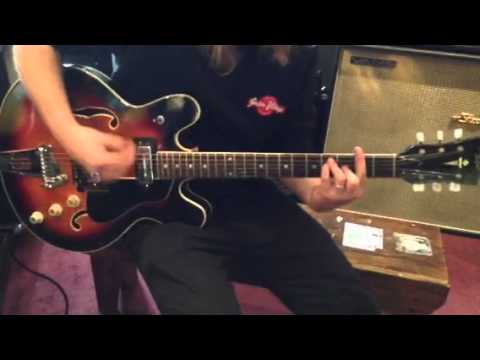 Hofner demo at guitar village Frankston