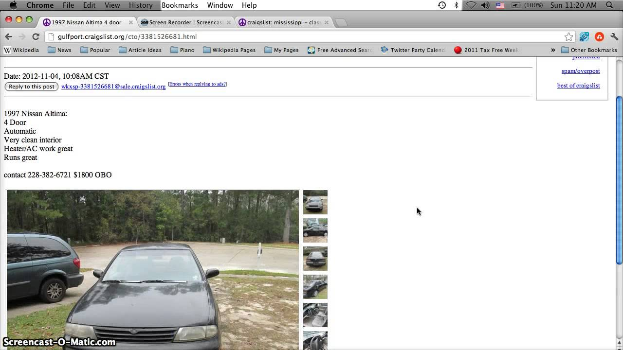 Craigslist Hattiesburg Mississippi Cars For Sale