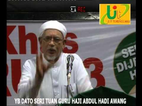 YB DATO' SERI TUAN GURU HAJI ABDUL HADI AWANG
