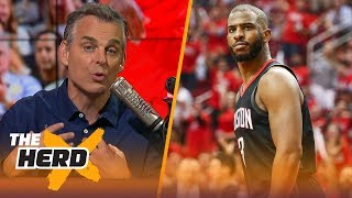 Colin Cowherd says Chris Paul has found the perfect fit in Houston | NBA | THE HERD
