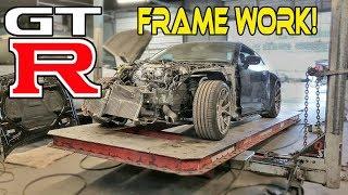 Rebuilding a WRECKED 2010 Nissan GTR (part 4)