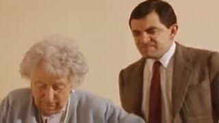 Mr. Bean nimmt die Treppe