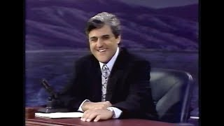 Tonight Show with Jay Leno - First Episode - 5/25/92