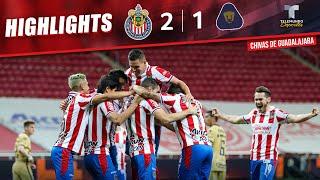 Chivas vs. Pumas  2-1 | Highlights & Goals | Telemundo Deportes
