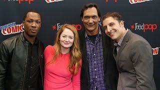 "Corey Hawkins, Miranda Otto & Jimmy Smits Talk ""24: Legacy"" at NYCC Behind The Velvet Rope"