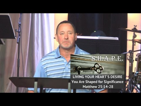Sep. 21, 2014 S.H.A.P.E Series: Heart, Pastor Kevin Cavanaugh
