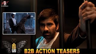 Disco Raja B2B Post Release Action Teasers- Ravi Teja, Nab..