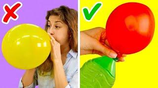 17 حيلة عملية رائعة باستخدام البالونات