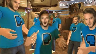 VR Chat #8 - I'm the REAL Pewdiepie!!