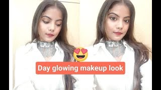The Day Glowing Makeup Look !! Style with me !!
