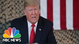 Watch Live: President Donald Trump Participates In Pentagon Missile Defense Review | NBC News