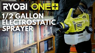 Video: 18V ONE+ CORDLESS 1/2 GALLON ELECTROSTATIC SPRAYER