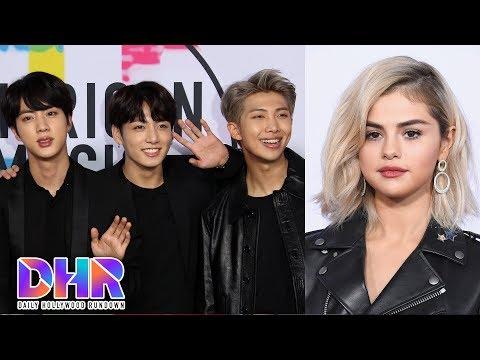 BTS SHUTS DOWN 2017 AMAs! - Selena Gomez UPSET Over Justin Bieber?! (DHR)