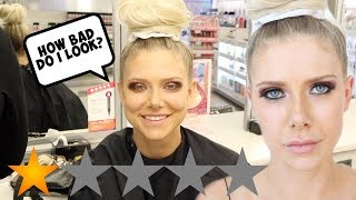 I WENT TO THE WORST REVIEWED MAKEUP ARTIST IN MY CITY!