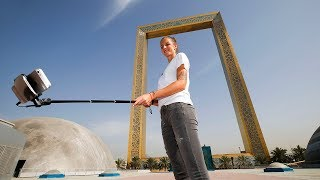 Pliskova Visits Dubai Frame