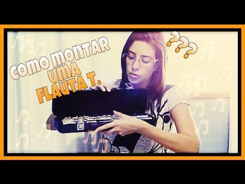 Como montar uma Flauta Transversal ??!!