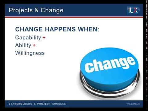 Overcoming project failure with effective stakeholder engagement - ILX webinar Replay