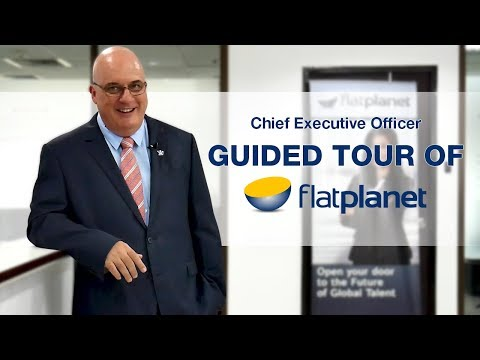 CEO Guided Tour of Flat Planet