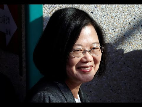 President Tsai Ing-wen declares victory in Taiwan election, opposition candidate concedes defeat