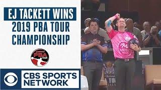 EJ Tackett edges Butturff in roll off to win 2019 PBA Tour Finals, Full Highlights   CBS Sports