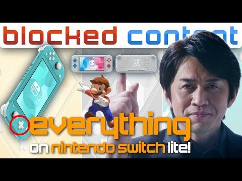 Everything You NEED To Know About NINTENDO SWITCH LITE! (Price, Pokemon Sword/Shield Edition!)