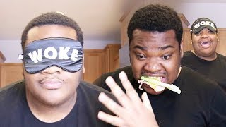Making a sandwich blindfolded