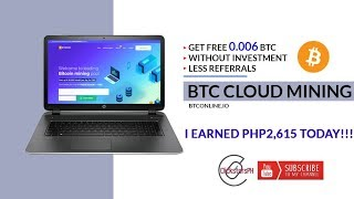 Free 0.006 BTC with less referrals and NO Investment! Legit!