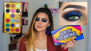 BOX OF CRAYON EYESHADOW PALETTE ...WTF? HIT OR MISS?