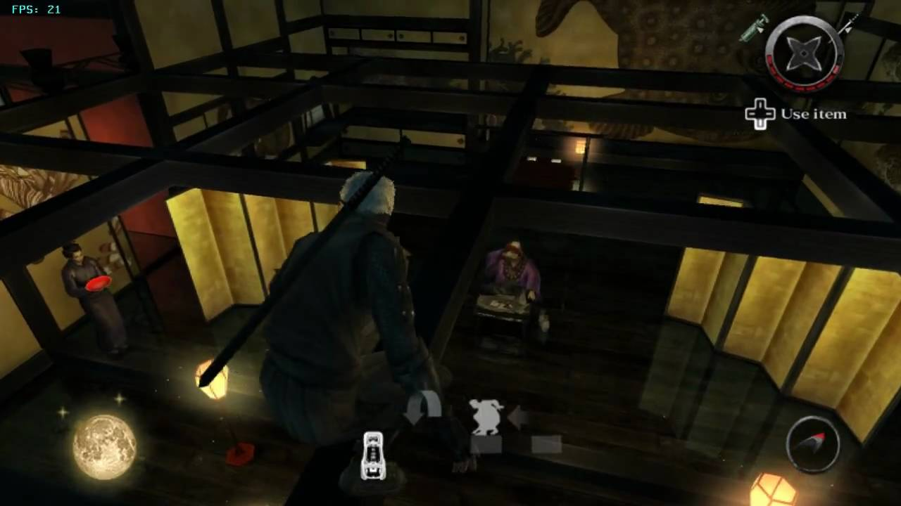 Tenchu: Shadow Assassins (4) on Dolphin Wii/GC Emulator ...Rikimaru Tenchu Wii