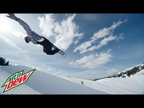 Professional Snowboarder Danny Davis Releases Sixth Installment of PEACE PARK, A Creative, Fun and Inspiring Snowboard Film Series Presented by Mountain Dew®