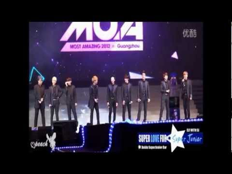[fancam] 120826 MOA in Guangzhou - Super Junior Full Part 2/5